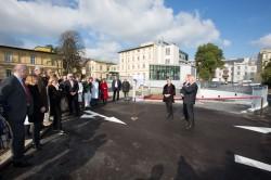 Feierliche Eröffnung der Tiefgarage Rudolfinerhaus